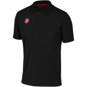 Castelli Race Day Polo Heren, black